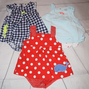 3 Child of Mine by Carter's One Piece Outfits